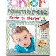 Numerele. Scrie si sterge - Colectia Junior 2-5 ani