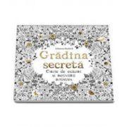 Basford Johanna, Gradina Secreta. Carte de colorat si activitati antistres (Carte de colorat pentru adulti)