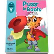 Charles Perrault - Puss in Boots, retold by H. Q. Mitchell. Primary Readers level 3, Student s Book with CD