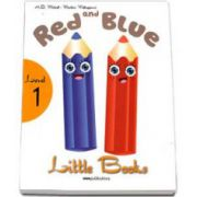H. Q. Mitchell - Red and Blue. Little Books level 1 Students book with CD