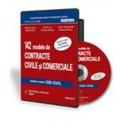 142 modele de contracte civile si comerciale conform noului Cod civil - Format CD