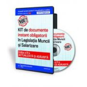 KIT-ul de documente instant obligatorii in Legislatia Muncii si Salarizare - Format CD