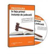 Andrei Andronic, Procedura in fata primei instante de judecata conform Noului Cod de Procedura Civila - Format CD