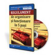 Regulamentul de Organizare si Functionare - Format CD