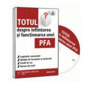 Dani Cucu, Totul despre infiintarea si functionarea unei PFA - Format CD