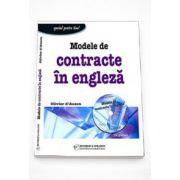 Modele de contracte in engleza si CD - Oliver D`Auzon