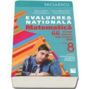 Stefan Rozica, Matematica. Evaluarea nationala. 66 de teste rezolvate dupa modelul MEN
