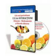 Pascale Barrow - Cele mai periculoase Interactiuni Alimente-Medicamente si Efecte Adverse - Format CD