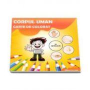 Corpul Uman. Carte de colorat cu abtibilduri