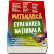 Nicolescu Catalin Petru, Matematica - Evaluarea Nationala 2015 clasa a VIII-a (Rosu)