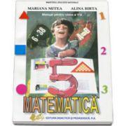 Matematica manual pentru clasa a V-a, Alina Birta si Mariana Mitea