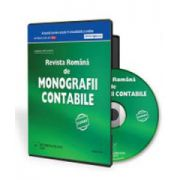 CD - Revista Romana de Monografii Contabile 6 luni. Format CD