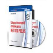 Culegere de monografii contabile 2015 pentru institutii publice -Format CD