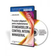 Proceduri obligatorii pentru Controlul Intern Managerial - Format CD