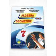 Artur Balauca - Auxiliar de Algebra si Geometrie pentru clasa a VII-a - Editia 2015