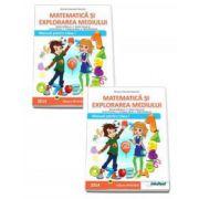 Matematica si explorarea mediului. Manual pentru clasa a I-a - Semestrele I si II - Contine editia digitala (Mirela Mihaescu)