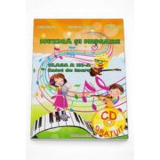 Adina Grigore - Muzica si miscare caiet de lucru pentru clasa a III-a. Contine CD