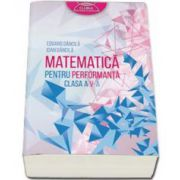 Dancila Eduard - Matematica pentru performanta, clasa a V-a - Clubul Matematicienilor