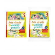 Arte vizuale si abilitati practice. Manual pentru clasa a III-a - Semestrul I si Semestrul al II-lea - Contine editia digitala