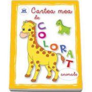 Cartea mea de colorat. Animale