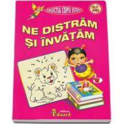 Ne distram si invatam - nivel 3-5 ani - Colectia Copii Isteti