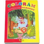 Coloram animale salbatice - Carte de colorat