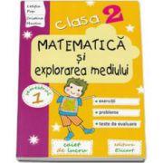 Pop Letitia, Matematica si explorarea mediului. Caiet de lucru pentru clasa a II-a, semestrul I