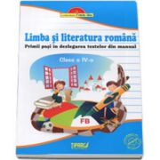Limba si literatura romana clasa a IV-a Primii pasi in dezlegarea textelor din manual (Albastra)
