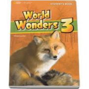 Curs de limba engleza World Wonders level 3 Students Book new editions, manual pentru clasa a VII-a cu CD - National Geographic Learning