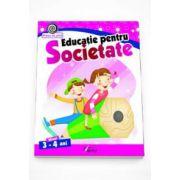 Georgeta Matei - Educatie pentru Societate nivel 3-4 ani. Colectia Vreau sa stiu!