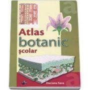 Atlas botanic scolar - Ilustratii color - Daciana Sava