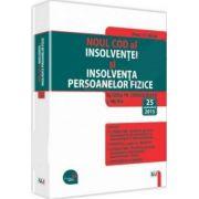Noul Cod al insolventei si Insolventa persoanelor fizice. Legislatie consolidata si index - Actualizat 25 septembrie 2015