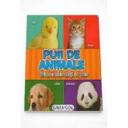 Puii de animale - Primele mele carti cu poze