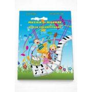 Adina Grigore, Muzica si miscare caiet de lucru pentru clasa pregatitoare - Contine CD Gratuit