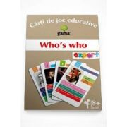 Who s who - Carti de joc educative