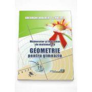 Adalbert Gheorghe Schneider - Memorator si indrumar de matematica - Geometrie pentru gimnaziu