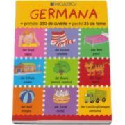 Catherine Bruzzone, Germana - primele 350 de cuvinte - peste 35 de teme. Editia Ilustrata