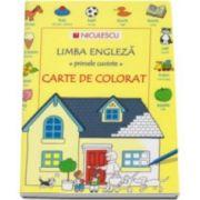 Heather Amery, Limba engleza, primele cuvinte - Carte de colorat