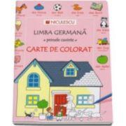 Heather Amery - Limba germana, primele cuvinte - Carte de colorat