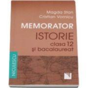 Magda Stan, Memorator de istorie pentru clasa a XII-a si bacalaureat