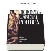 Dominique Colas, Dictionar de gandire politica