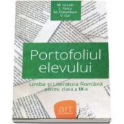 Monica H. Columban - Portofoliul elevului. Metoda de evaluare la limba si literatura romana pentru clasa a IX-a