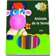 Animale de la Ferma. Invat sa modelez - Varsta recomandata 3-8 ani
