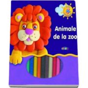 Animale de la Zoo. Invat sa modelez - Varsta recomandata 3-8 ani