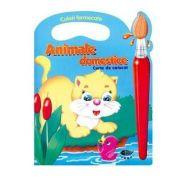 Animale domestice. Culori fermecate - Varsta recomandata 3-6 ani