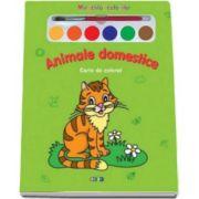 Animale domestice. Miracolul culorilor - Varsta recomandata 3-6 ani