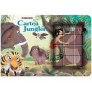 Cartea Junglei. Cubopuzzle - Carte si 12 cuburi
