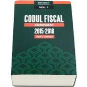 Codul Fiscal Comparat 2015-2016. In trei volume - Cod si norme (Nicolae Mandoiu)