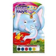 Elefantul Fant. Miracolul acuarelei