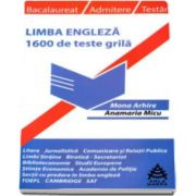 Mona Arhire, Limba engleza prin 1600 de teste grila utile pentru: bacalaureat, admitere si testari